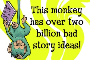 This monkey must be stopped for the sake of children everywhere!